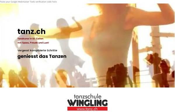 Vorschau von www.tanz.ch, Tanzschule Wingling
