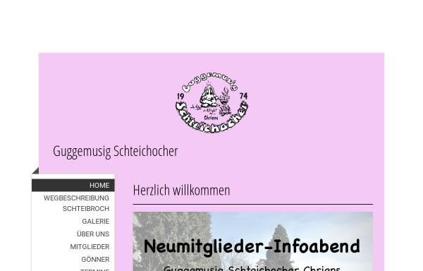 Vorschau von www.schteichocher.ch, Guggenmusik Schteichocher, Sarnen