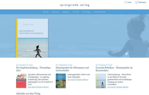 Vorschau von www.sprangsrade.de, Sprangsrade Verlag
