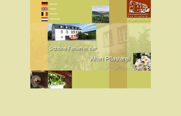 Vorschau von www.alte-pflasterei.de, Alte Pflasterei