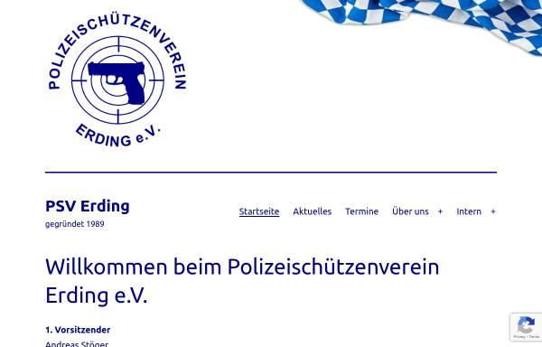 Vorschau von www.psv-erding.de, Polizeischützenverein Erding e.V.