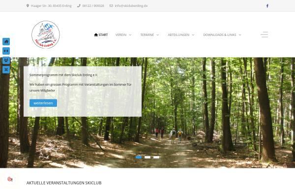 Vorschau von www.skiclub-erding.de, Skiclub Erding e.V.