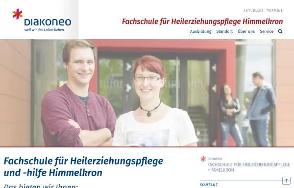 Vorschau von www.fachschule-himmelkron.de, Fachschule für Heilerziehungspflege