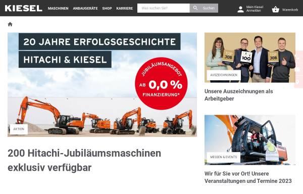 Vorschau von www.kiesel.net, Reif Baumaschinen Himmelkron