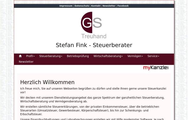 Vorschau von www.gs-treuhand.de, GS Treuhand GmbH