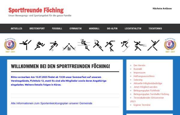 Vorschau von sffoeching.de, Sportfreunde Föching e.V.