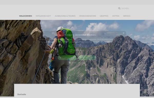Vorschau von www.dav-neu-ulm.de, Deutscher Alpenverein e. V. (DAV) - Sektion Neu-Ulm