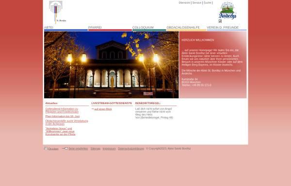 Vorschau von www.sankt-bonifaz.de, Abtei und Pfarrei St.Bonifaz