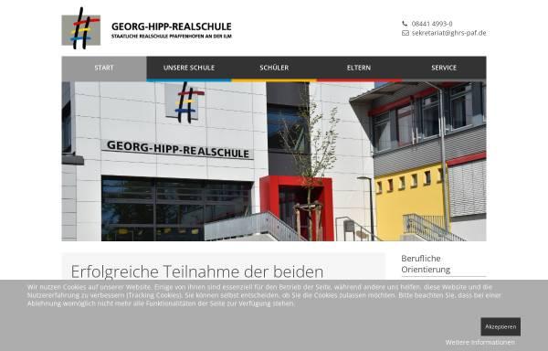 Vorschau von www.georg-hipp-realschule.de, Georg Hipp Realschule