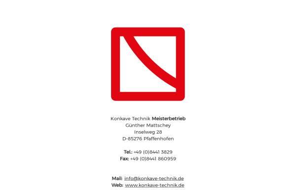 Vorschau von www.konkave-technik.de, Konkave-Technik