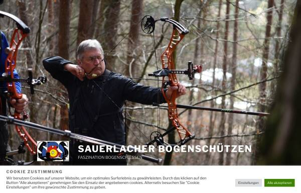 Vorschau von www.bogen-sbs.de, Sauerlacher Bogenschützen e.V.