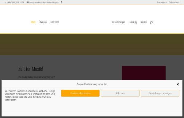 Vorschau von www.musikschule-unterhaching.de, Musikschule Unterhaching e.V.