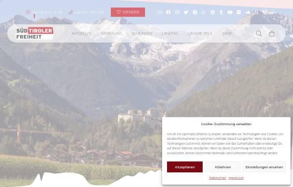 Vorschau von suedtiroler-freiheit.com, Sued-Tiroler Freiheit