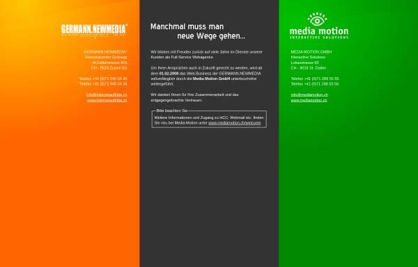 Vorschau von www.internetauftritte.ch, Germann Newmedia
