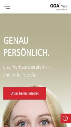 Vorschau der mobilen Webseite mhs.ch, Mhs@internet AG