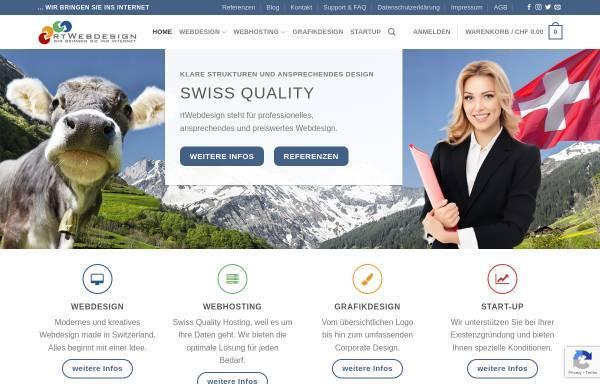 Vorschau von www.rtwebdesign.ch, RtWebdesign