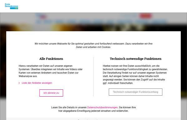 Vorschau von www.fdp-westfalen-sued.de, FDP Bezirksverband Westfalen-Süd