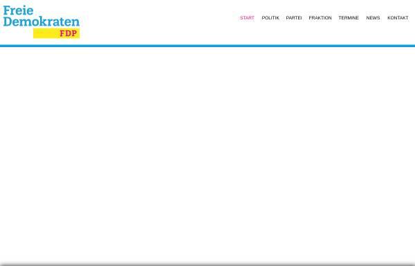 Vorschau von www.fdp-aachen.de, FDP Aachen-Stadt