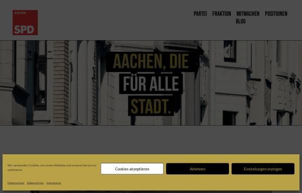 Vorschau von www.spd-aachen.de, SPD Unterbezirk Aachen Stadt