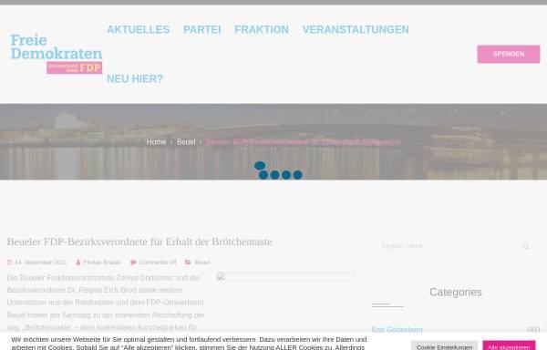 Vorschau von www.fdp-beuel.de, FDP Bonn-Beuel