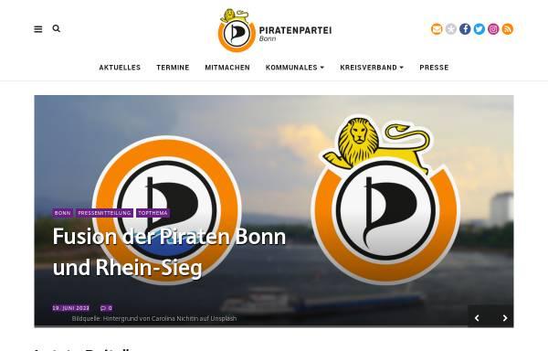 Vorschau von blog.piratenpartei-nrw.de, Piratenpartei Bonn