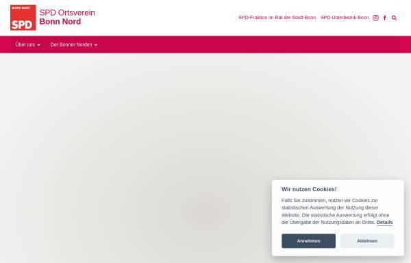 Vorschau von www.spd-bonn-nord.de, SPD-Ortsverein Bonn-Nord