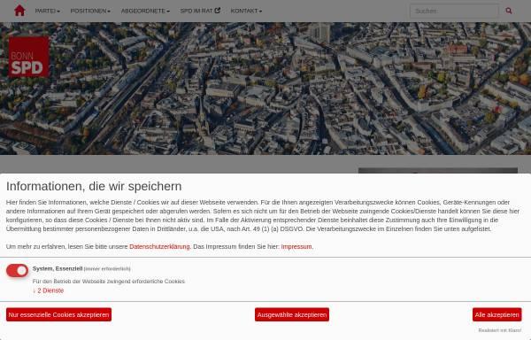 Vorschau von www.spd-bonn.de, SPD-Ortsverein Bonn-Süd