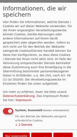 Vorschau der mobilen Webseite www.spd-bonn.de, SPD-Ortsverein Bonn-Süd