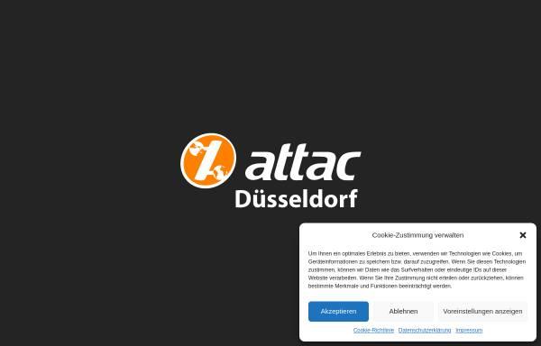 Vorschau von www.attac.de, Attac Düsseldorf