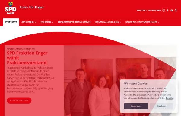 Vorschau von spd-enger.de, SPD-Stadtverband Enger