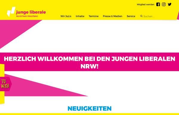 Vorschau von www.junge-liberale-nrw.de, JuLis - Junge Liberale Nordrhein-Westfalen