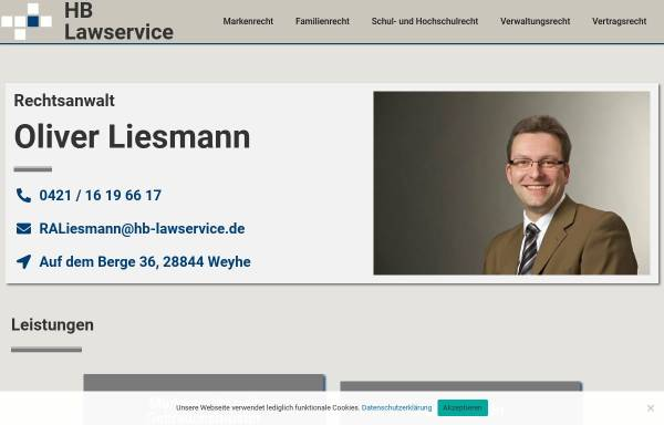 Vorschau von www.hb-lawservice.de, Kanzlei Würth und Kollegen