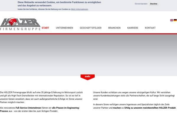 Vorschau von www.am-holzer.de, Holzer Motorsport