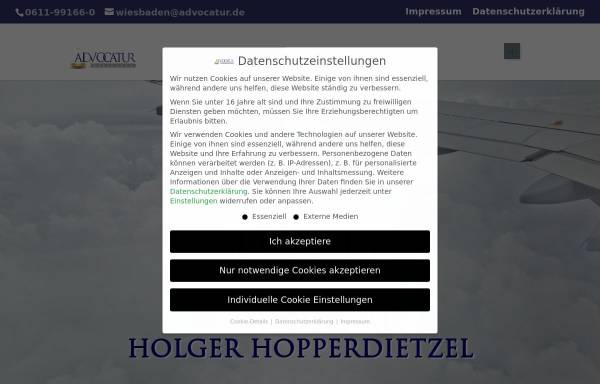 Vorschau von www.reiserechtsexperte.de, Birkhahn, Holger, Rechtsanwalt