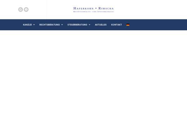 Vorschau von www.recht-hr.de, Haferkorn Jörg