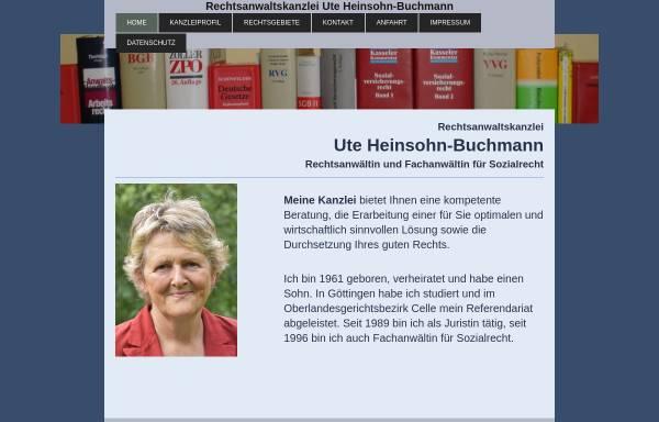 Vorschau von heinsohn-buchmann.de, Heinsohn-Buchmann Ute