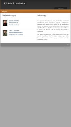 Vorschau der mobilen Webseite www.vk-gl.de, Köckritz und Landzettel