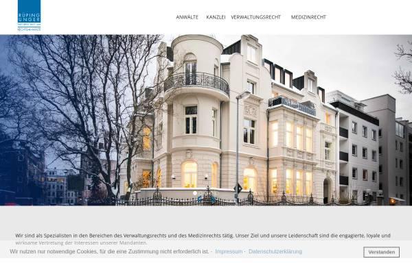 Vorschau von dr-rueping.de, Rüping, Karoff und Kollegen