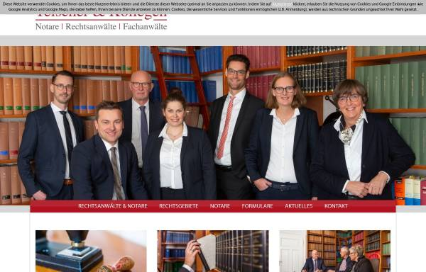 Vorschau von www.rechtsanwaltskanzlei-telscher.de, Telscher & Kollegen