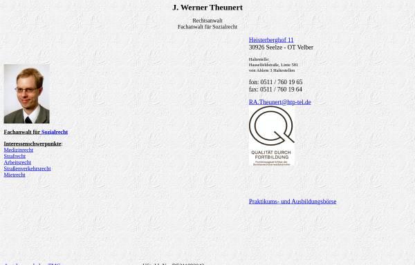 Vorschau von home.htp-tel.de, Theunert, J. Werner