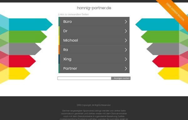 Vorschau von hannig-partner.de, Rechtsanwalt Frank Hannig