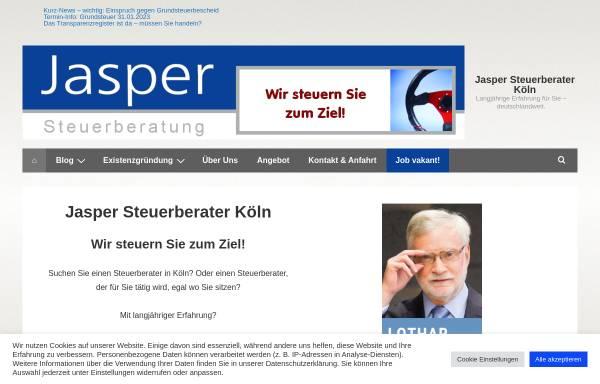 Vorschau von erfolgreich-wirtschaften.de, Jasper Steuerberatung - Lothar Th. Jasper