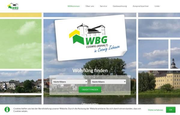 Vorschau von www.wohnungsbaugesellschaft-coswig-anhalt.de, Wohnungsbaugesellschaft mbH Coswig