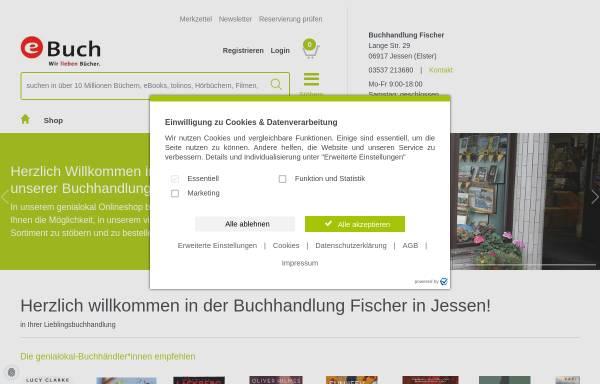Vorschau von fischers-buchhandlung.shop-asp.de, Buchhandlung Steffen Fischer