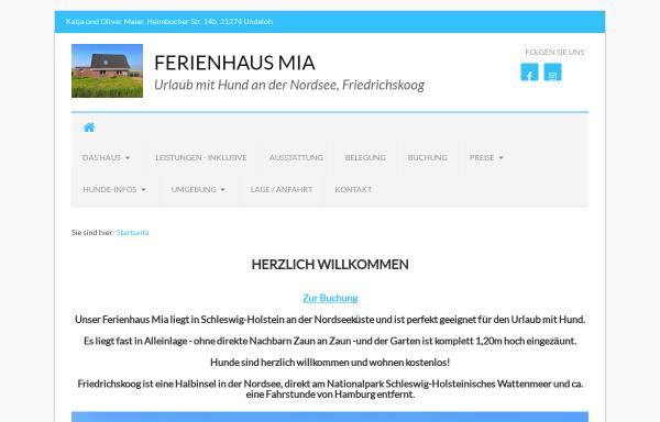 Vorschau von appenzeller-mia.de, Mia von der Friedlwiese