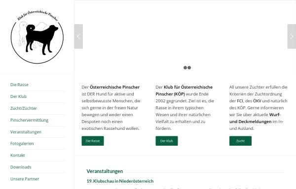 Vorschau von oe-pinscher-klub.at, Klub Österreichische Pinscher