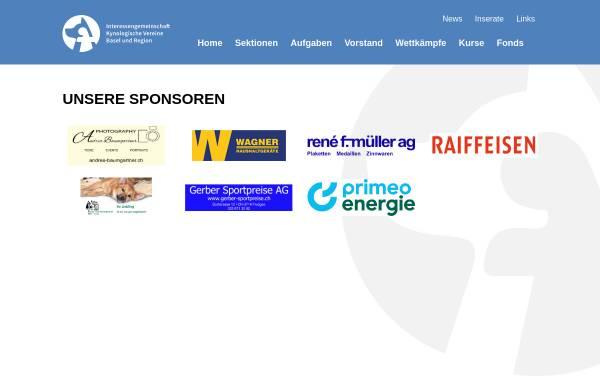 Vorschau von www.igkv-basel.ch, Interessengemeinschaft der Kynologischen Vereine von Basel und Region