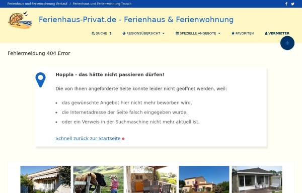 Vorschau von www.ferienhaus-privat.de, Haus Grünbergblick