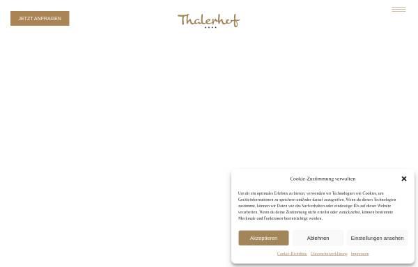 Vorschau von www.hotelthalerhof.at, Hotel Thalerhof