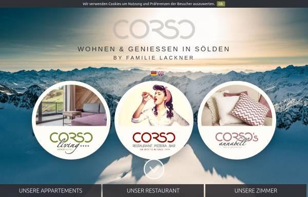 Vorschau von www.oetztalarena.at, Pizzeria Corso und Restaurant Saitensprung